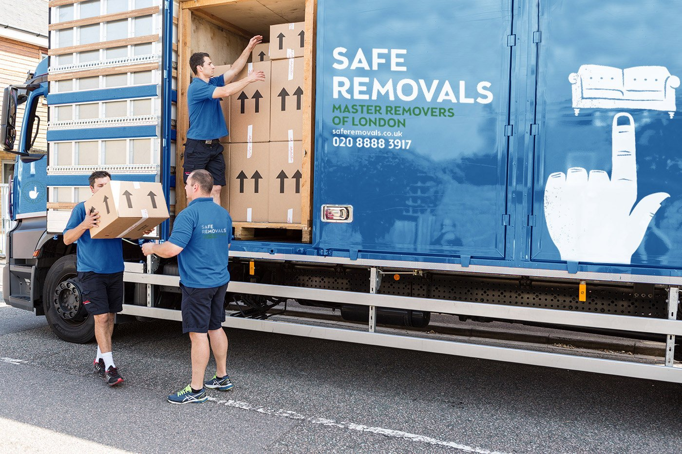 National Relocation Service from London with Safe Removals